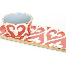 Modern Serving Dishes And Platters by Jill Rosenwald