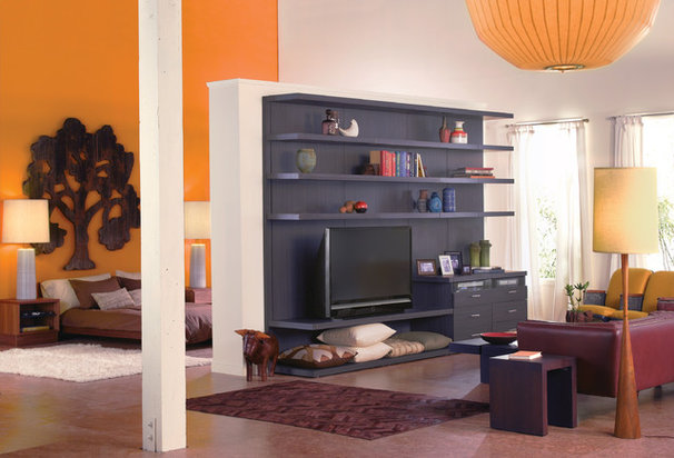 Contemporary Entertainment Centers And Tv Stands by California Closets