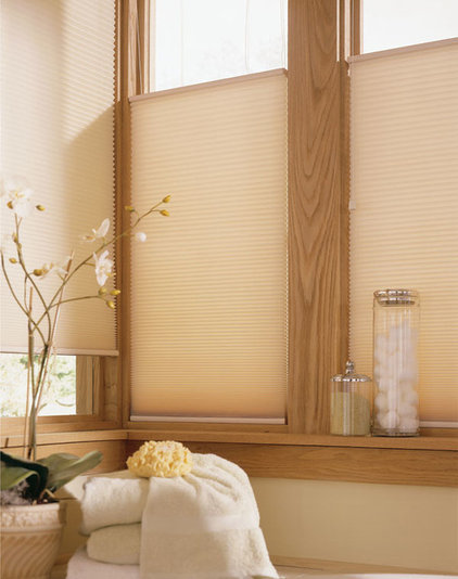 Contemporary Cellular Shades by Blinds Chalet