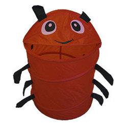 Four Seasons - Red Ladybug Animal Insect Nylon Hamper-Storage Basket - Features: