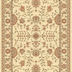 "Dynamic Rugs - Dynamic Rugs Farahan 95004-6565 (Cream) 7'10"" x 10'10"" Rug - This Machine Made rug would make a great addition to any room in the house. The plush feel and durability of this rug will make it a must for your home. Free Shipping - Quick Delivery - Satisfaction Guaranteed"