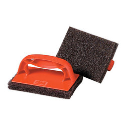 "3M CORPORATION - GRIDDLE SCRUBBER SCOTC BRITE 4""X6""X3"" 12/CASE - For use on griddles that have been cooled"