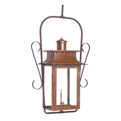 ELK - Elk Lighting 7908-WP Outdoor Gas Ceiling Lantern Maryville Collection - Outdoor Gas Ceiling Lantern Maryville Collection In Solid Brass with an Aged Copper finish.