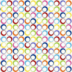 "SheetWorld - SheetWorld Round Crib Sheets - Primary Colorful Rings Woven - Made in USA - This luxurious 100% cotton ""woven"" round crib sheet features a primary colorful rings print. Our sheets are made of the highest quality fabric that's measured at a 280 tc. That means these sheets are soft and durable. Sheets are made with deep pockets and are elasticized around the entire edge which prevents it from slipping off the mattress, thereby keeping your baby safe. These sheets are so durable that they will last all through your baby's growing years. We're called SheetWorld because we produce the highest grade sheets on the market today."