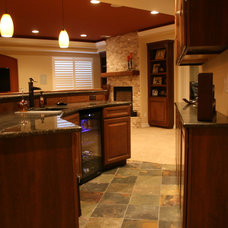 Craftsman Kitchen by Brothers Construction