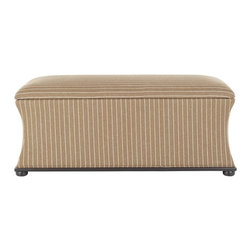 Safavieh - Aroura Storage Bench - Brown/ Cream Tweed - With its seductive silhouette, the Aroura Storage Bench is enveloped in chic, feminine style. Covered in sophisticated brown cream tweed linen-weave fabric, Auroua sits graciously atop ample black legs sturdy enough to hold everything you stow inside.
