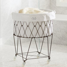Contemporary Hampers by Pottery Barn