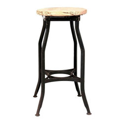 Pre Owned Medium Classic Industrial Stool Get
