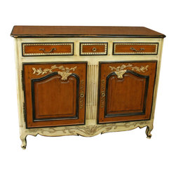 EuroLux Home - New French Country Sideboard in Cherry - Product Details