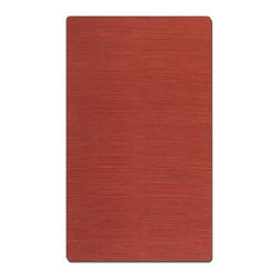 Uttermost - Uttermost Aruba 8 x 10 Rug - Carmine 71010-8 - Woven Jute In Over Dyed Carmine Red With Natural Striations.