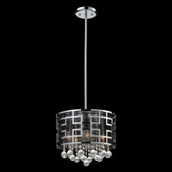Z-Lite Mirach 6-Light Crystal Chandelier 841CH - 12.5W in.