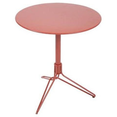 patio furniture and outdoor furniture Fermob Flower 26 inch Pedestal Table
