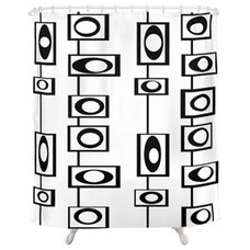 Midcentury Shower Curtains by Crash Pad Designs