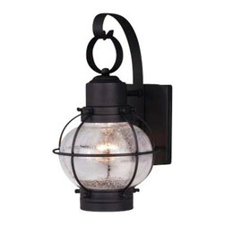 Vaxcel - Chatham Wall Sconce - Vaxcel OW21861TB Chatham Textured Black Outdoor Wall Sconce