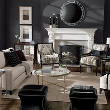 Transitional Living Room by Ethan Allen / Jackie Carlson