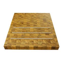 J. Aaron Wood tops - J.Aaron, wood, teak, butcher block, table top