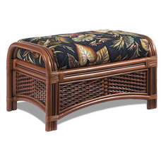 Tropical Footstools And Ottomans by Wicker Paradise