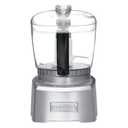Cuisinart - Cuisinart Elite Collection 4-Cup Chopper/Grinder, Brushed Stainless - SmartPower blade has a patented auto-reversing ability with a sharp edge for delicate chopping and pureeing soft foods, while the blunt edge grinds through spices and harder foods