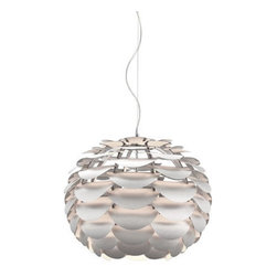 Zuo ModernTachyon Ceiling Lamp Aluminum - Like a blossom opening from a branch, the Tachyon ceiling lamp emphasizes harmony with sophistication. The body is aluminum and it is UL approved.