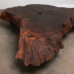 "Coffee Table - Natural Design Wood - ""Update your style. Keep your roots."""