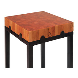 Chopping Block / Butcher Block Prep Table - Available in multiple countertop species and finishes.