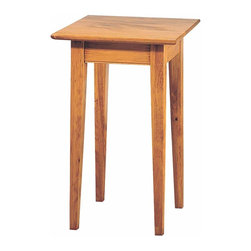Renovators Supply - Lamp Tables Antique Pine Lamp Table Canterbury Antique Pine 25 H | 11242 - Lamp Table. Canterbury lamp table is that perfect sized table that can be use anywhere! Extra reading light for the guest room- living room- or den- a special display for a treasures memento. Beautifully crafted in solid pine and finished in our Antique finish. Measures 25 H x 16 W x 16 proj.