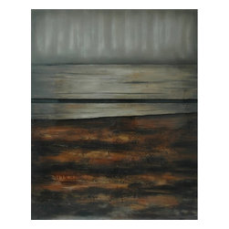 Crestview Collection - Crestview Collection Westmoreland Landscape High Gloss Stretched Canvas Wall Art - Crestview Collection Westmoreland Landscape High Gloss Stretched Canvas Wall Art X-8001POTVC