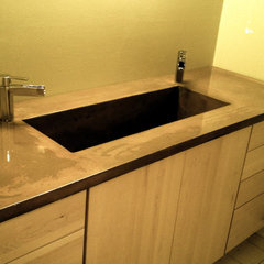 modern bathroom countertops by Burco Surface &amp; Decor