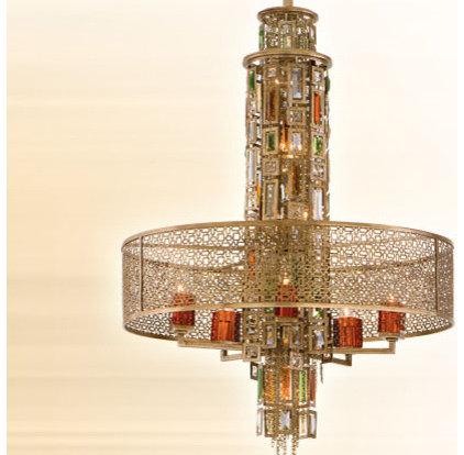 Eclectic Pendant Lighting by corbettlighting.com