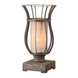 Uttermost - Uttermost 29573-1 Minozzo 1 Light Table Lamp - Features: