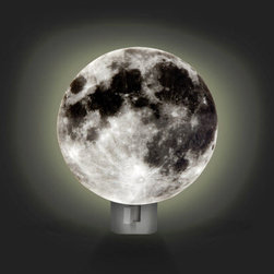Nightlight, Moon - Light up your kid's world with this ingenious moon nightlight.