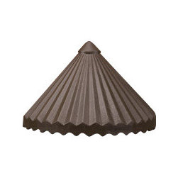 Kichler - Kichler 15468AZT Ribbed Roof Low Voltage Deck & Patio Light - Kichler Landscape Ribbed Roof Low Voltage Deck & Patio LightSingle Light Outdoor Deck Light from the Ribbed Roof Collection Simple ribs and valleys are combined with a fluted column to blend with any deck setting