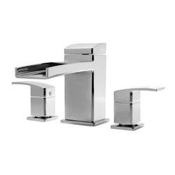 PRICE PFISTER - Roman Tub Faucet Trim Kit Less Handle Kenzo Brushed Nickel - Features: