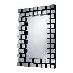 "Dimond - Valaparaiso Mirror - Valaparaiso Mirror; Dimensions: W:29"" H:42""; Valaparaiso Collection; Finish: Mirrored"