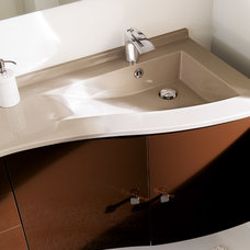 Modern Vanity Tops And Side Splashes by AMBIANCE BAIN