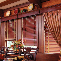 Hunter Douglas Parkland™ Reflections® Wood Blinds - Hunter Douglas Parkland™ Reflections® Wood Blinds