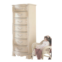Lea Jessica McClintock 7-Drawer Semainier in Antique White