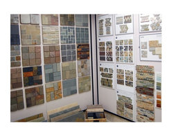 Showroom 3 - slate tiles available in a variety of colors and sizes