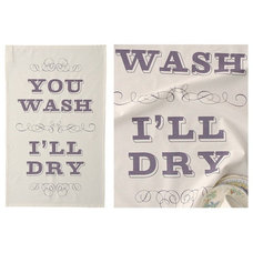 Eclectic Dish Towels by Keep Calm Gallery