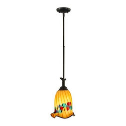 Dale Tiffany - Dale Tiffany AH11248 Celebration 1 Light Mini Pendant - Features: