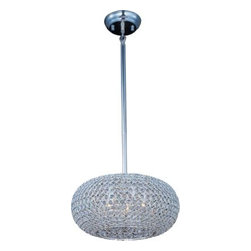 Maxim Lighting - Maxim Lighting 39878BCPS Glimmer 5-Light Pendant In Plated Silver - Features