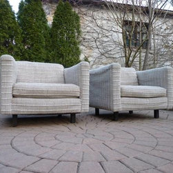 Mid Century Modern Lounge Chairs - SOLD