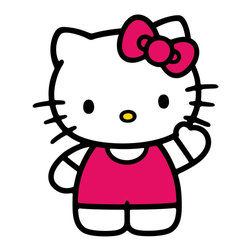 York Wallcoverings - Sanrio Hello Kitty World Large Wall Accent Sticker Set - Features: