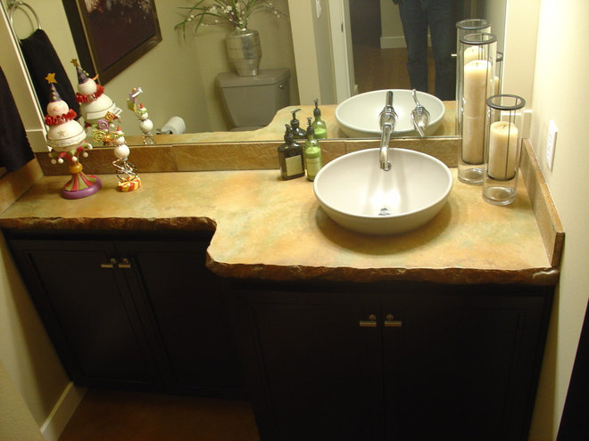 Contemporary Vanity Tops And Side Splashes by VC Studio Inc.