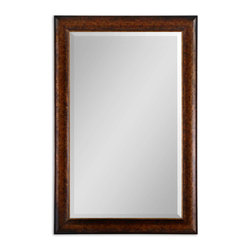 Uttermost - Mirror With Silver Undertones And 1-1/4In. Bevel - Mirror With Silver Undertones And 1-1/4In. Bevel