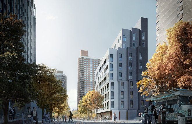 contemporary rendering My Micro NY