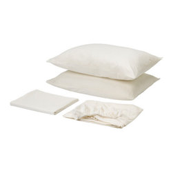DVALA Sheet set - Sheet set, white