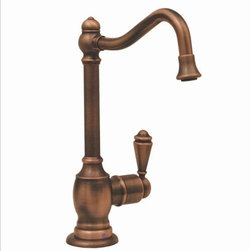 Whitehaus - Whitehaus Whfh-C3132-Ab Drinking Water Faucet - Point of use drinking water faucet with traditional spout
