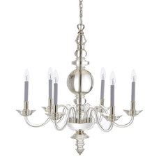 Transitional Chandeliers by Horchow