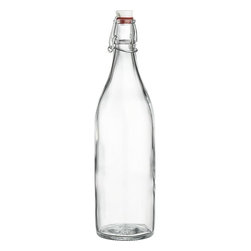 Airtight Glass Bottle - Make a batch of your favorite drink (sangria, perhaps?) and keep it on hand with this airtight glass bottle by Crate & Barrel. I like that it's reusable too.